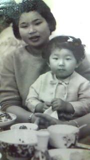 8月30日 ミサコ&母