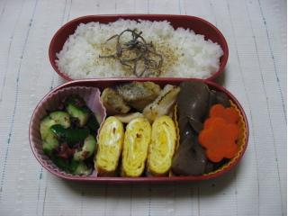 20100128お弁当