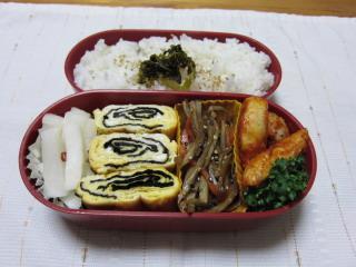 20110131お弁当