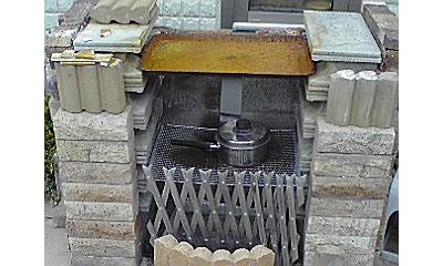 手作り焼き肉暖炉