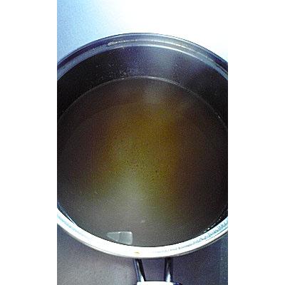 豚スペアリブスープ焼き骨