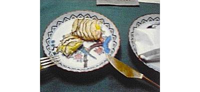 鶏のささみ和紙焼き