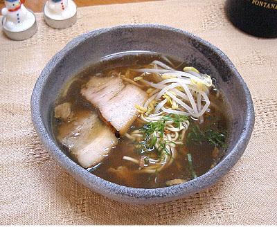 豚骨醤油ラーメン7
