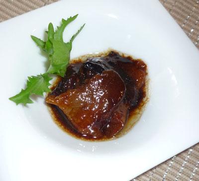 前菜豚ほっぺバルサミコ