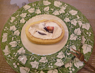 渋皮ロールケーキ