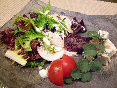 イタリアン野菜とブルーチーズのサラダ