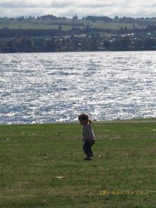 湖畔を散歩blog