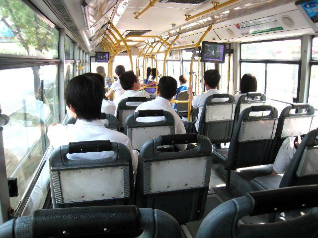 北京のバス