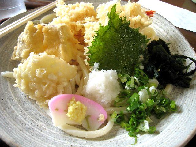 冷やし天ぷら(やすきや)
