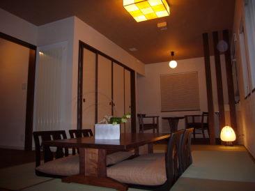 あかりの美しい和室