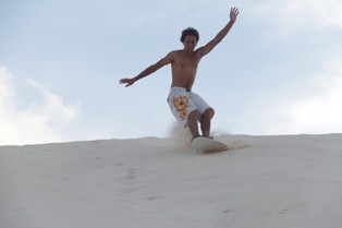 beni sand dune