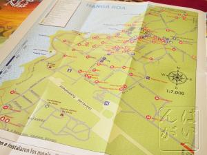 村の地図付き