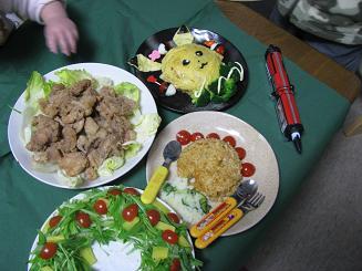 クリスマス料理2009