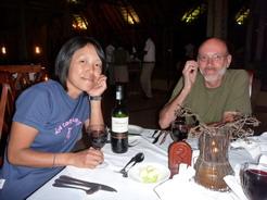 6mar2010 ビュッフェの夕食1