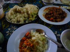 28mar2010 二日目の夕飯