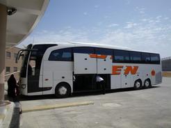 22jun2010 イスタンブール行きのバス