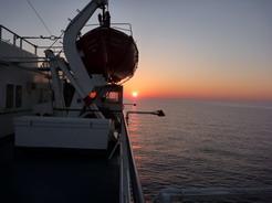 3jul2010 アドリア海の夕日