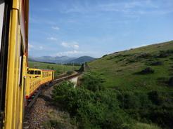 12jul2010 ラトゥール・デ・キャロル行きの登山列車