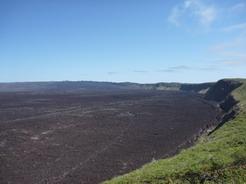 20aug2010 シエラ・ネグラ火山の巨大な火口