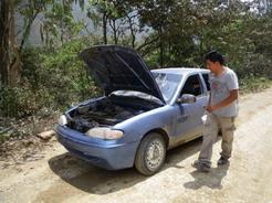 サンタマリアからクスコ行きの車 IMGP2657_サイズ変更