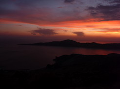 30sep2010 日没後のティティカカ湖