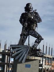 3oct2010 エル・アルトにあるチェ・ゲバラの像