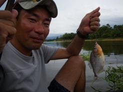 23dec2010 ピラニア釣り