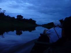 25dec2010 三日目の朝 夜明け前に漕ぎ出す