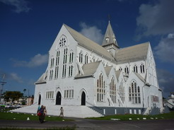 18jan2011 木造教会としては世界一大きいらしい