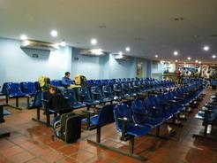 24jan2011 プンタ・デ・ピエドラスの待合室 ビバーク開けの朝