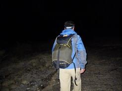5mar2011 3時半に歩き始める