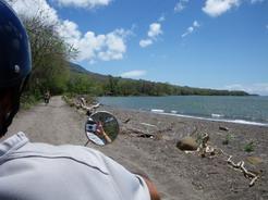 14mar2011 ニカラグア湖沿いに島を一周