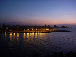 1apr2011 ハバナ・セントロの夕景