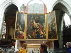 23jun2011 ネロが一目見たいと恋焦がれたルーベンスの絵「キリストの昇架」