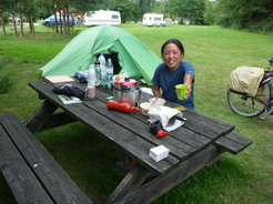 19jul2011 Bergenのキャンプ場
