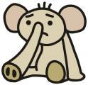 無気力な象