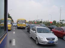 海寧大渋滞