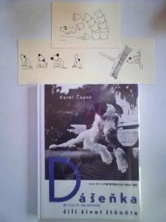 ダーシェンカの本とポストカード3枚