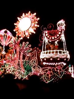 エレクトリカルパレード・ドリームライツクリスマスバージョン1