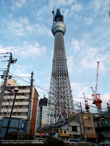 東京スカイツイリー by 旧・業平橋駅駅前