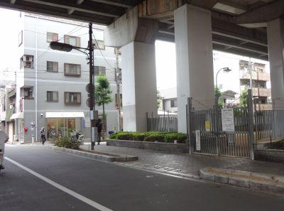旧南海平野線駒川町駅跡