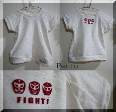 イオ カラフルネップTシャツ