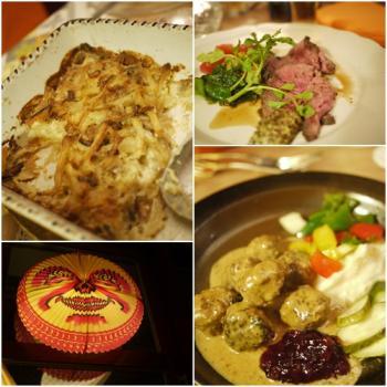 スウェーデン料理
