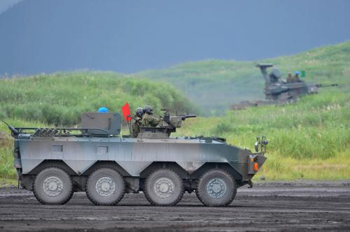 Type-96 wheeled armored vehicle