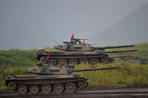 Type-74 MBT