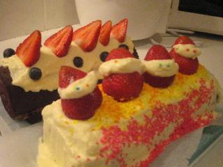 xsmas cake 1