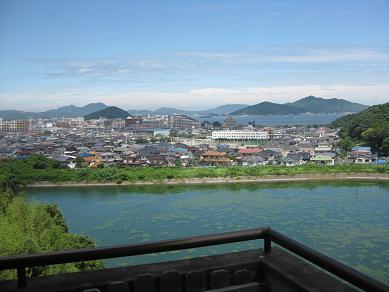 ホテルからの眺