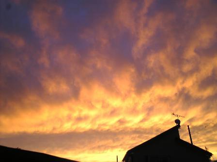 20091114-夕焼け空