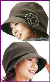 セレブ帽子