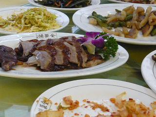 北京ダック料理